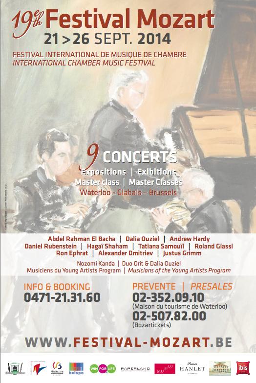 « Toucher plutôt que surprendre » ou le Festival Mozart 2014.