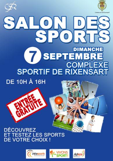 Salon des Sports 2014 à Rixensart !