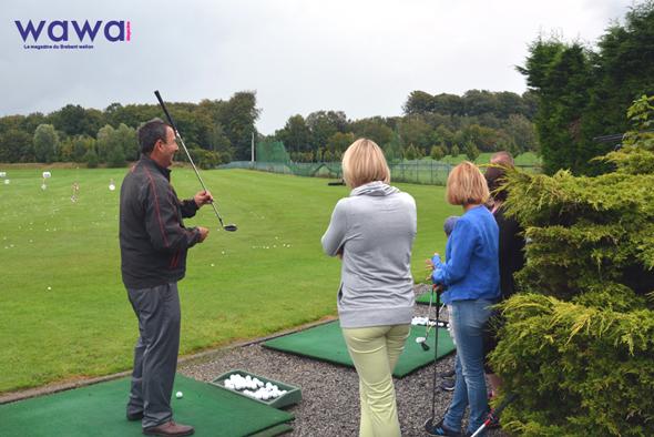 Initiation au golf chez PRO1GOLF à Louvain-La-Neuve !