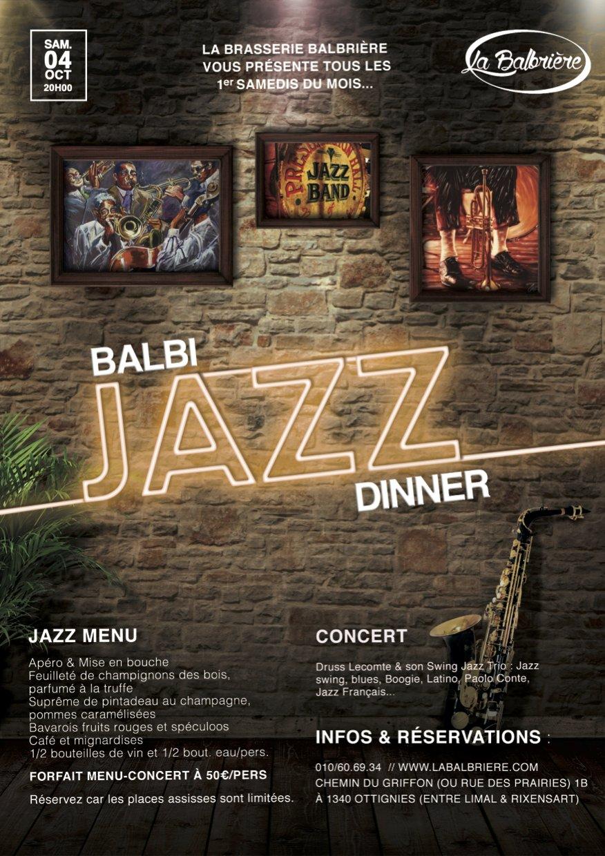 BALBI Jazz DINNER ! (Ottignies)