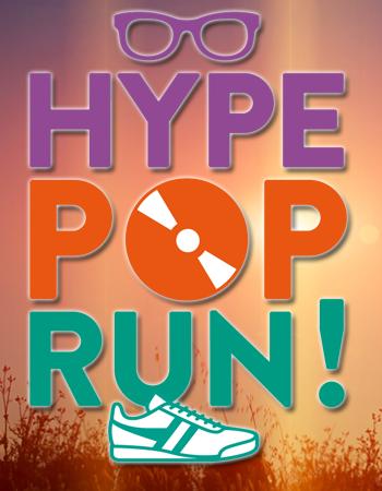 Hype POP Run ! Une course  « Hype » Un maître mot : le fluo !