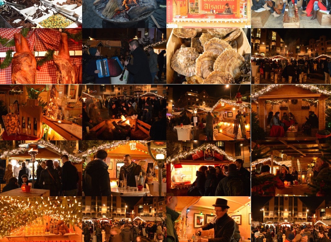 Louvain-La-Neige : Marché de Noël