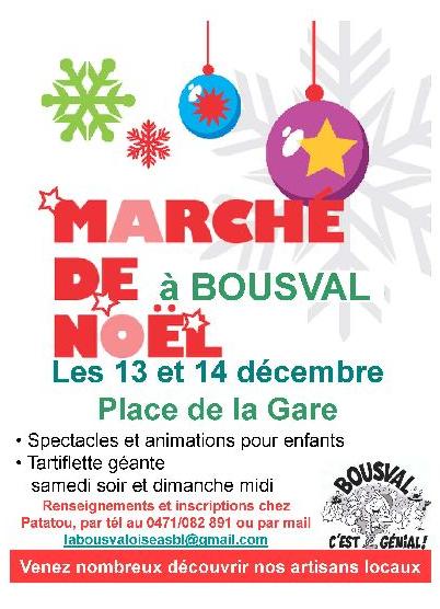 Marché de Noël de Bousval