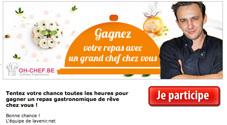 "Concours ""Grand Chef"" !"