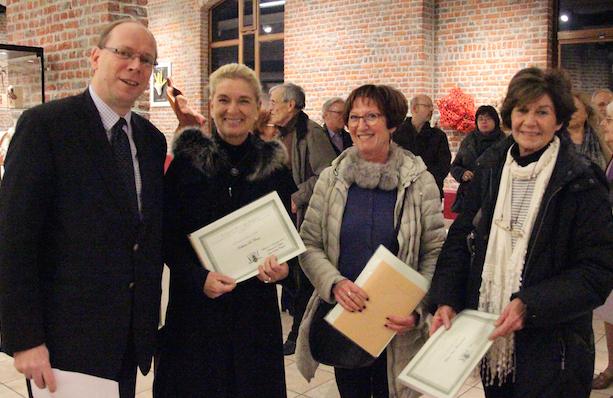 Waterloo : Kathleen De Clercq, Martine Parvais et Thalou Van Winnendael, lauréates de la triennale des artisans d'art