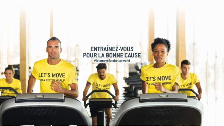 Défi fitness en Brabant wallon : Let's move for a better world !