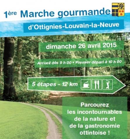 1ère Marche gourmande à Ottignies-Louvain-la-Neuve