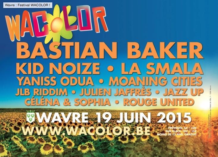 Festival Wacolor : les jeunes Wavriens s'activent !