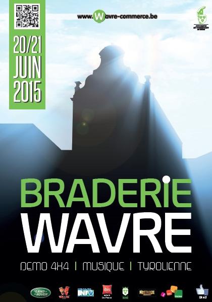 La Braderie 2015 de Wavre