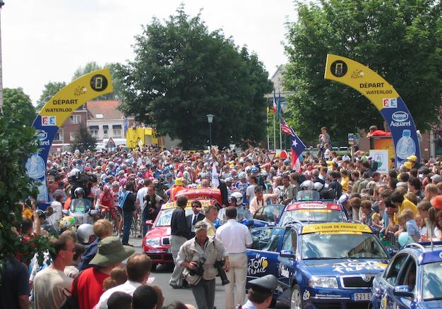 Le Tour de Wallonie à Waterloo !