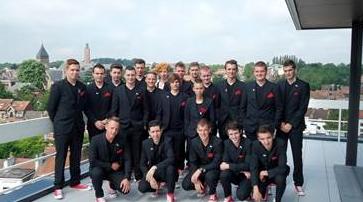 """"""" Belgian Team 2015 """" quarante jours avant le départ au Brésil (3 participants du BW!)"""
