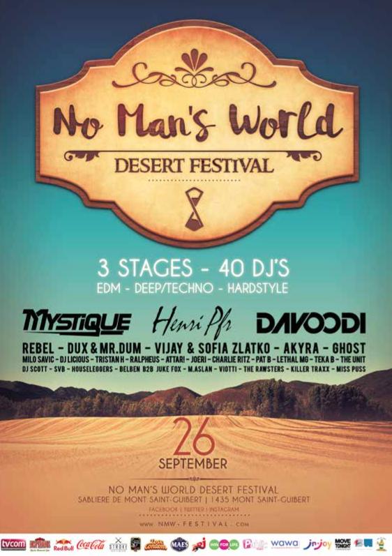 Le No Man'S World Festival ne prêche pas dans le désert