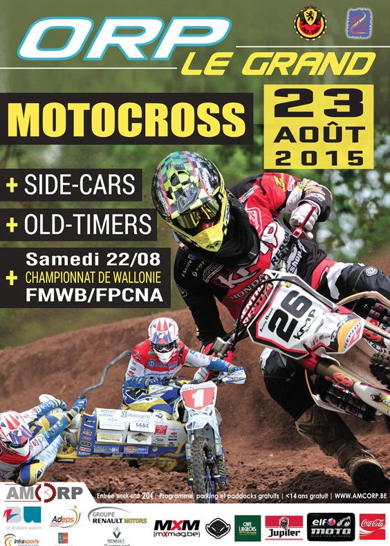 MOTO CROSS -  Orp Le Grand