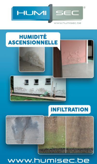 HUMISEC à Wavre, la solution radicale aux problèmes d'humidité