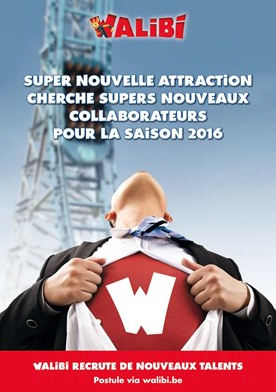 JOBS ! Walibi recrute !