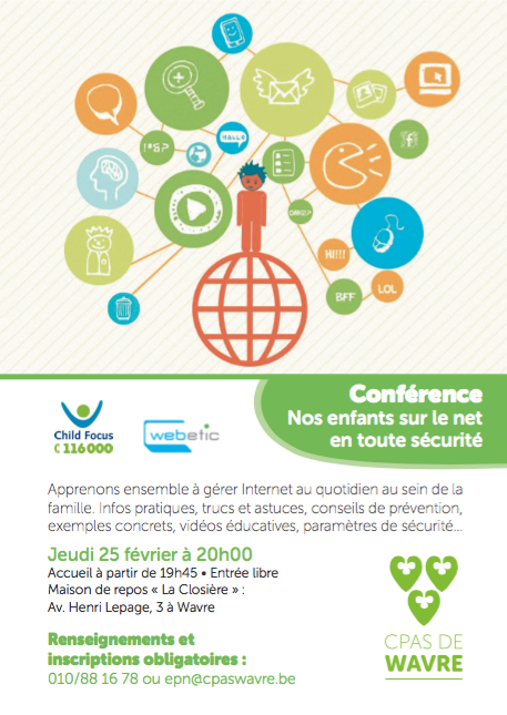 Conférence : « Nos enfants sur le Net en toute sécurité »