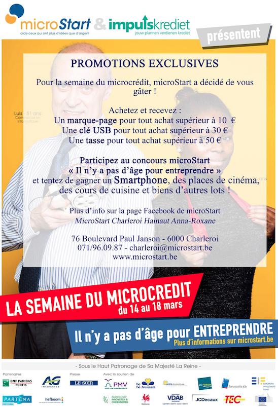 Nivelles : Voici les commerçants de Nivelles qui participent à la Semaine du Microcrédit !