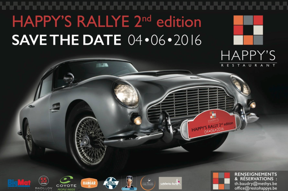 Wavre : Happy's Rallye 2nd édition (+vidéo)