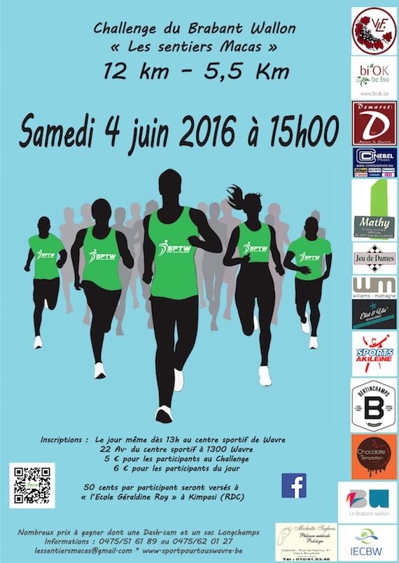 5ème jogging de Wavre (Brabant wallon)