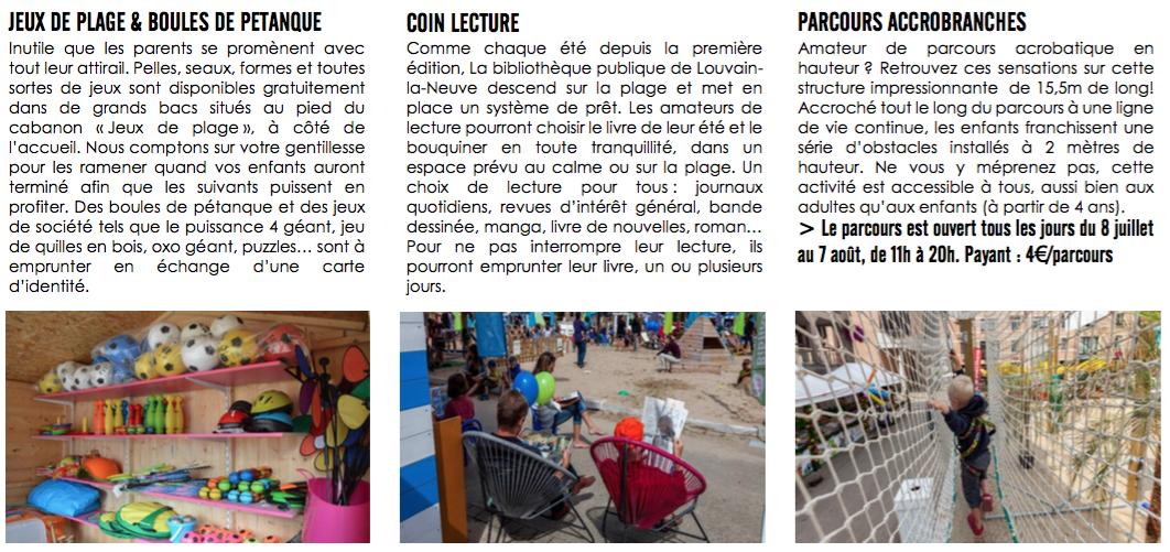 Louvain-La-Plage 2016, l'été dans le Béwé