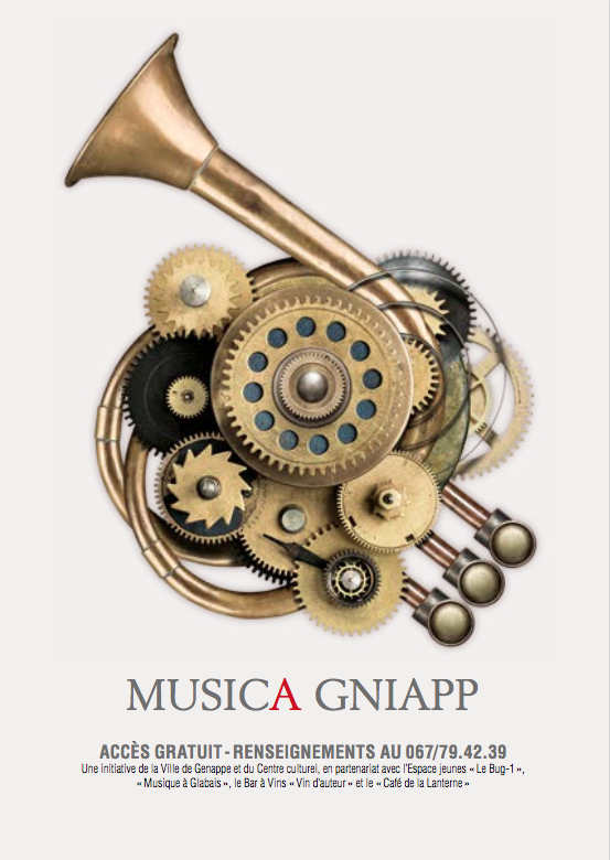 MUSICA GNIAPP - La Fête de la Musique à Genappe !