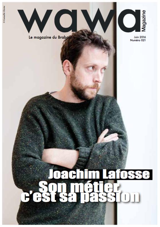 Joachim Lafosse Son métier, c'est sa passion