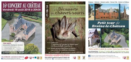 Venez (re)découvrir Braine-le-Château cet été !  Improvisez une sortie à deux pas de chez vous...dépaysement garanti!