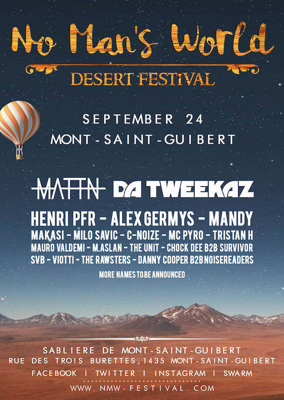 No Man's World Desert Festival 2016 !