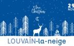 Louvain-la-Neige 2019, le marché de Noël de LLN