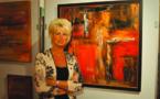 Patricia Timmermans, sculptrice et peintre.
