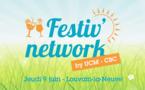 Rendez-vous ce jeudi 09 juin : apéro estival sur la pelouse de CBC à Louvain-la-Neuve !