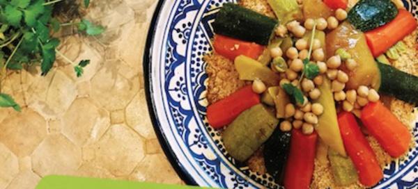 Au Souk : La cuisine marocaine traditionnelle. Menu de fin d'année 2018/2019