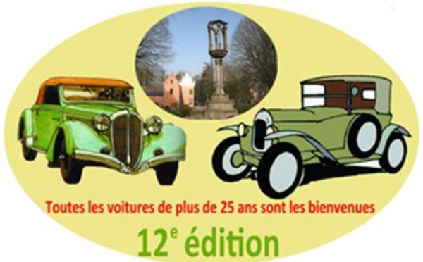 12e rallye de voitures anciennes de Braine-le-Château