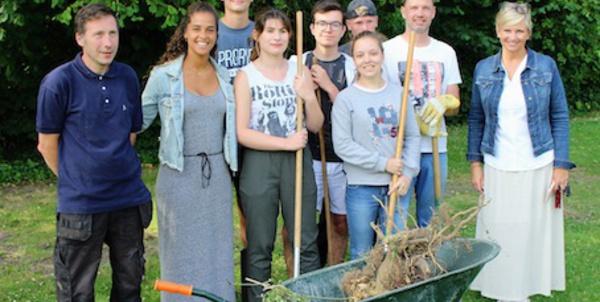 Waterloo : Des jeunes jobistes impliqués dans l'embellissement de la ville