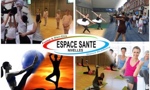 Espace Santé Nivelles : Ecole et cours de danse à Nivelles (Brabant wallon), mise en forme tous niveaux  de 2 à 82 ans…