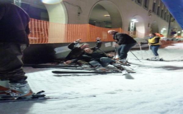 Land Rover Wavre au City Ski !