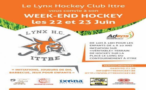 Week-end Hockey à Ittre !