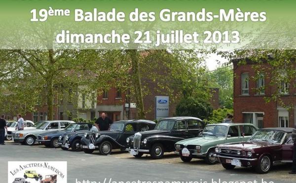 Rallye de voitures anciennes - Perwez