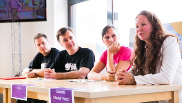 Conférence de presse chez The Little Gym Waterloo avec Kim Gevaert !