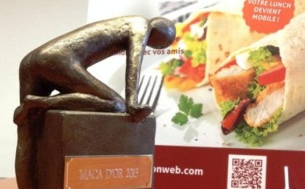 Lunch On Web lauréat du Maca d'Or Innovation - Belle récompense pour un service gratuit de commande de repas par internet