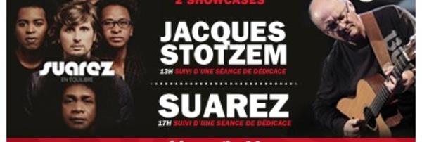 Braine l'Alleud > 8 MARS : SUAREZ et JACQUES STOTZEM !