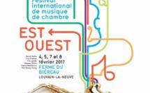 Les 4, 5, 7 et 8 février 2017, le festival Est-Ouest revient pour une sixième édition à la Ferme du Biéreau.