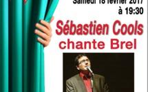 Tubize : SÉBASTIEN COOLS chante BREL (CADIF)