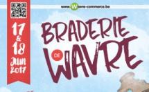 LA BRADERIE DE WAVRE : Les 17 et 18 juin