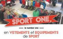 Sport One : le number one des magasins de vêtements et équipements de sport en Brabant wallon !