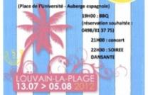 21 juillet à Louvain La Neuve