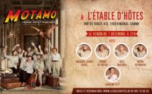 Motamo, spectacle d'impro interactif à l'Etable d'hôtes (Ittre)