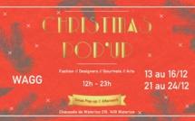 Pop-up Store des fêtes de Noël au WAGG.