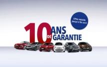 FJA Automobile (Wavre- Nivelles) vous offre 10 ans de garantie à l'achat d'une nouvelle Fiat !