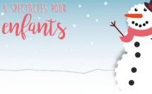Vacances de Noël : Emmenez vos enfants au théâtre !
